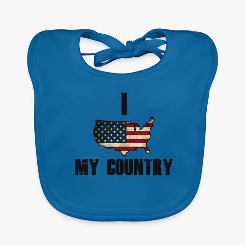 I love my country - Bio-slabbetje voor baby's