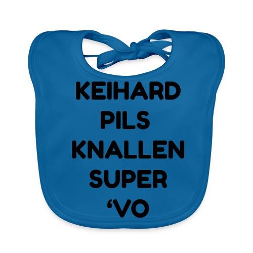 Keihard pils knallen - Bio-slabbetje voor baby's