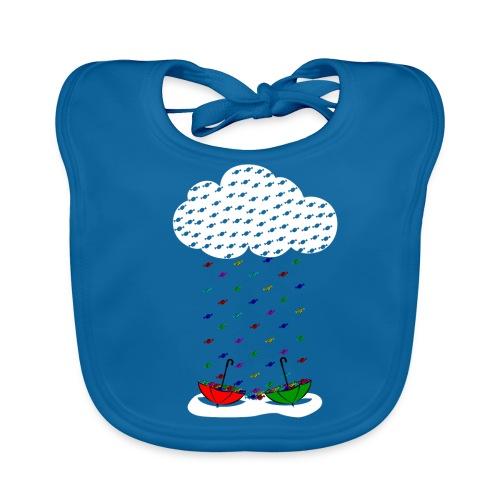 Sweet rain - Babero ecológico bebé