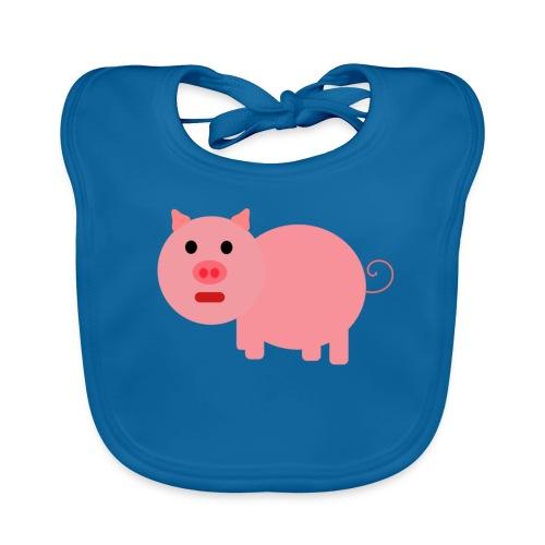 Pig Mad - Baby Organic Bib
