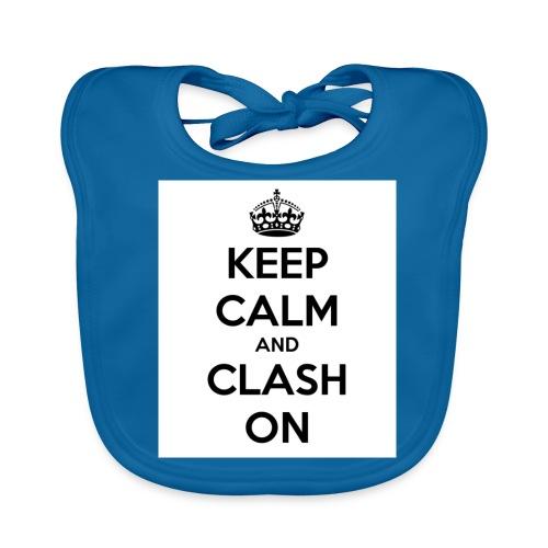 coque téléphone keep calm and clash on - Bavoir bio Bébé