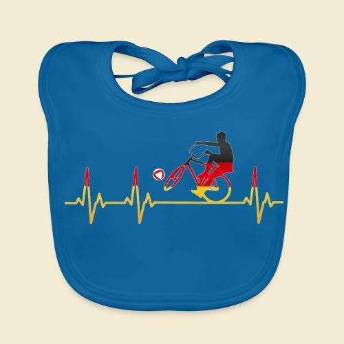 Radball | Cycleball Heart Monitor Germany - Baby Bio-Lätzchen