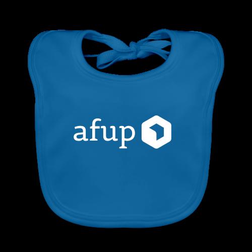 Logo AFUP Blanc - Bavoir bio Bébé