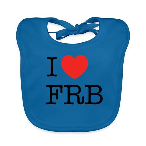 I Love FRB - Streetwear - Baby økologisk hagesmæk