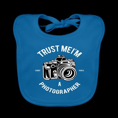 Trust me - I'm a Photographer - Baby Bio-Lätzchen
