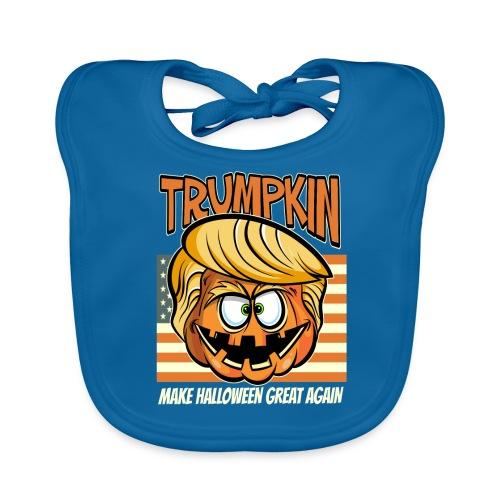 Trumpkin Donald Trump Halloween - Baby Bio-Lätzchen