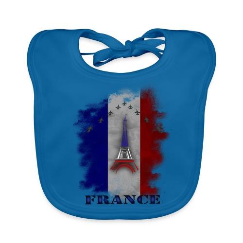 Fandesign Frankreich - Baby Bio-Lätzchen