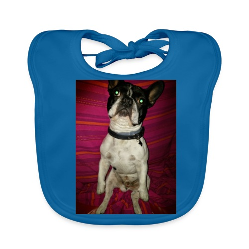 Bulldog francés Sit - Babero ecológico bebé