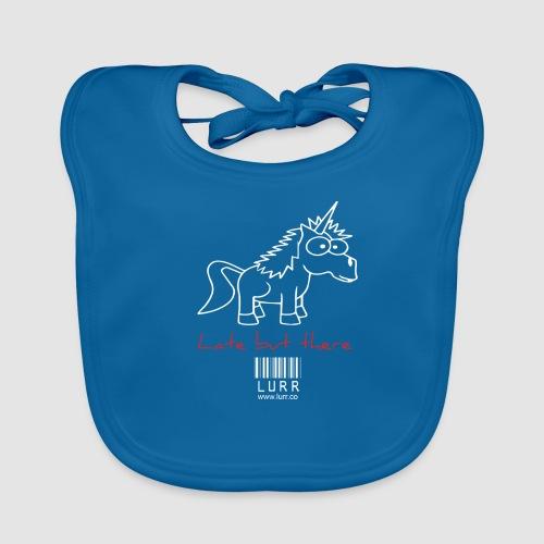 lurr unicorn - Baby Organic Bib