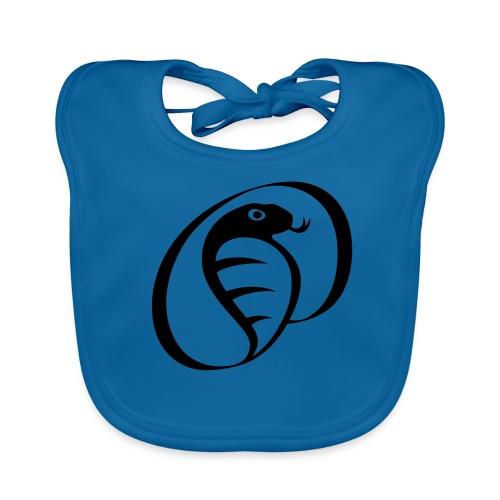 Kobra Kai logo - Ekologisk babyhaklapp