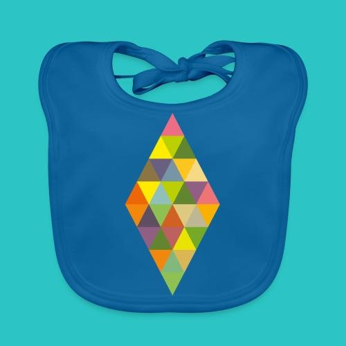 Rhombus - Baby Bio-Lätzchen