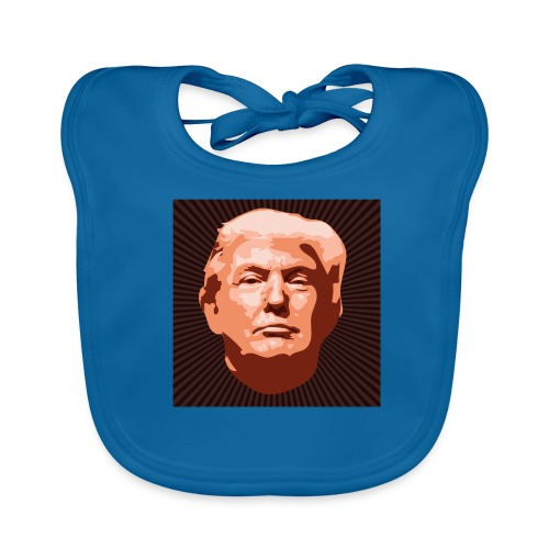 Trumpface - Baby Bio-Lätzchen
