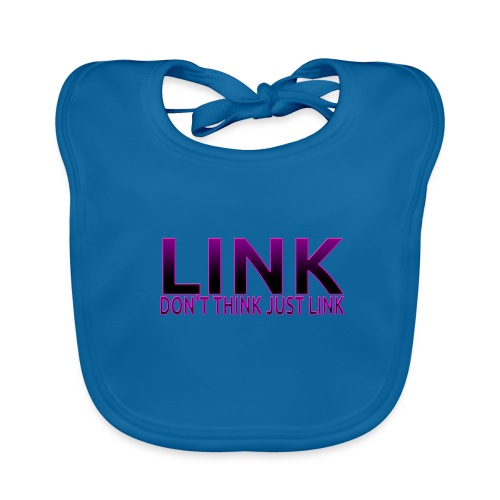 LINK PURPLE DESIGN - Baby Organic Bib