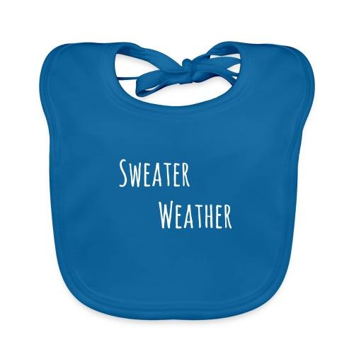 sweaterwea therwhite - Baby Bio-Lätzchen