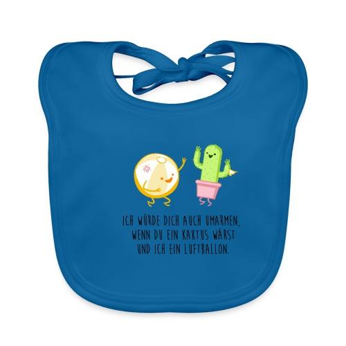 Kaktus und Ballon - Baby Bio-Lätzchen