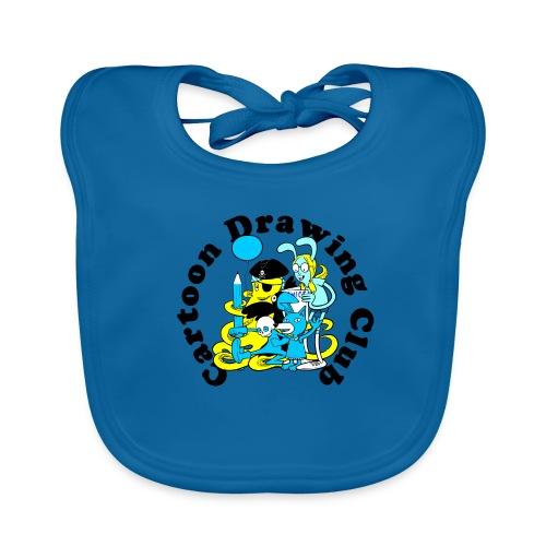 Cartoon Drawing Club - Baby Organic Bib