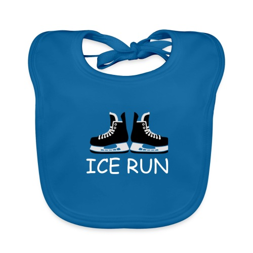 Ice Run - Bavoir bio Bébé