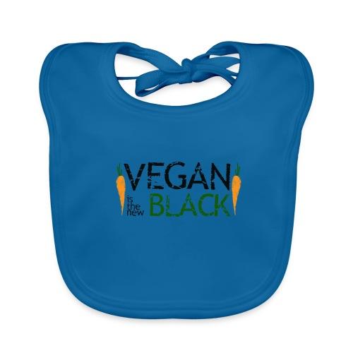 Vegan is the new black - Babero ecológico bebé