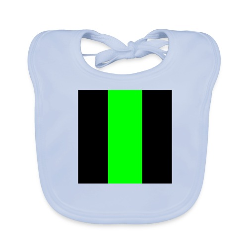 The henrymgreen Stripe - Baby Organic Bib