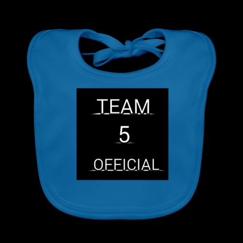 Team5 official 1st merchendise - Baby Organic Bib