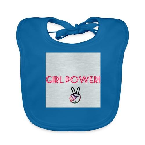 Girl Power! - Baby Organic Bib