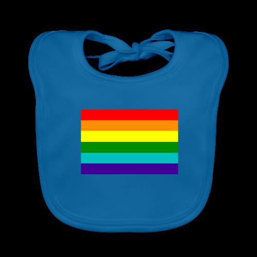 Gay pride rainbow vlag - Bio-slabbetje voor baby's