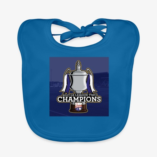 MFC Champions 2017/18 - Baby Organic Bib