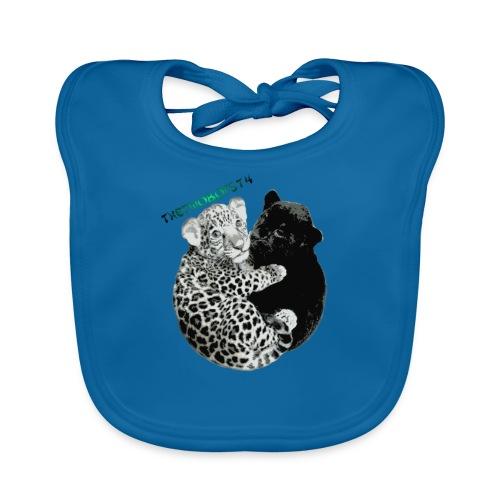 panther jaguar taske - Baby økologisk hagesmæk