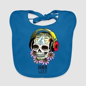 smiling_skull - Baby Organic Bib