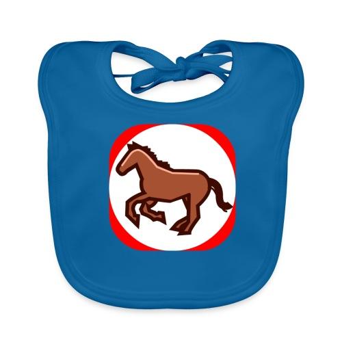 Pferd - Baby Bio-Lätzchen