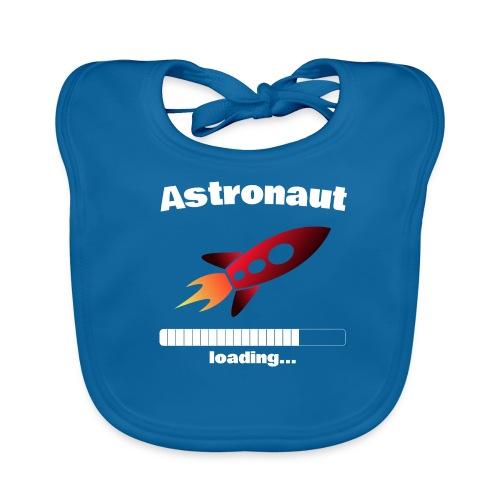 Astronaut loading... Baby Motiv - Baby Bio-Lätzchen