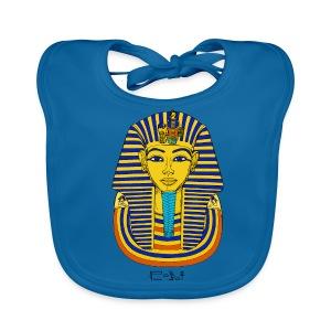 Pharao Tutanchamun - Baby Bio-Lätzchen