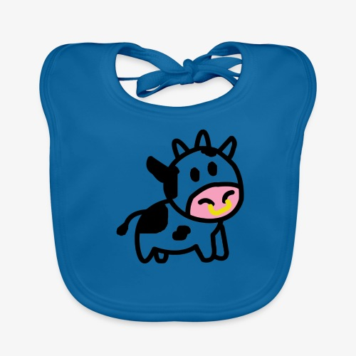 Cute Cow - Baby Organic Bib