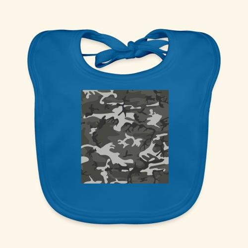 Camouflage militaire - Bavoir bio Bébé
