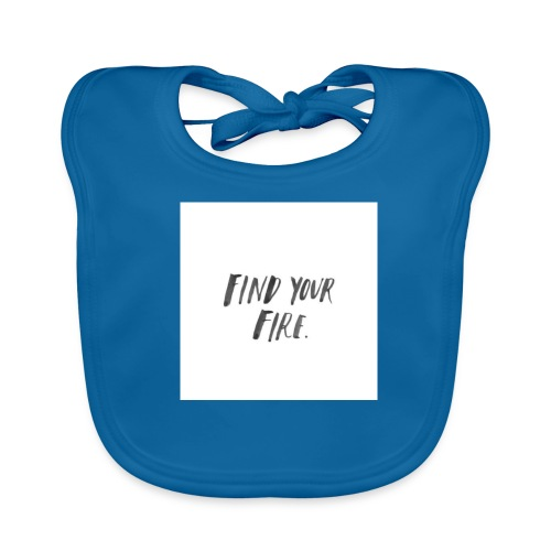 Find your Fire - Baby Organic Bib