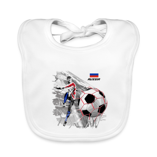 GP22F-04 RUSSIAN FOOTBALL TEXTILES AND GIFTS - Vauvan ruokalappu