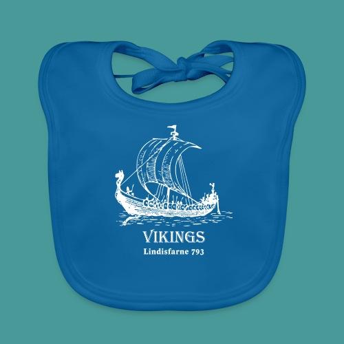 vikings Lindisfarne 793 - Ekologisk babyhaklapp