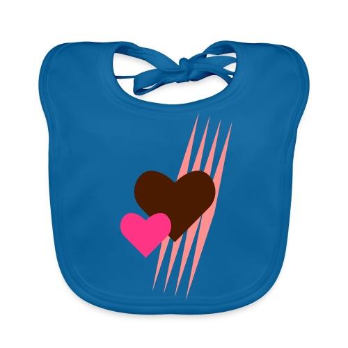 Teddy.Kidswear. – Hearts - Baby Bio-Lätzchen