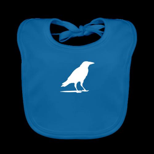OTB Crow Logo - Baby Organic Bib