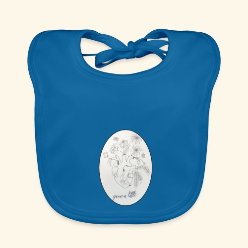 Grow a little - Baby Organic Bib