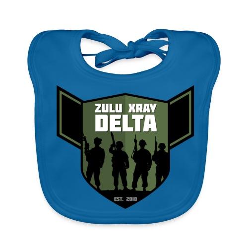 Zulu X-Ray Delta Logo - Baby Organic Bib