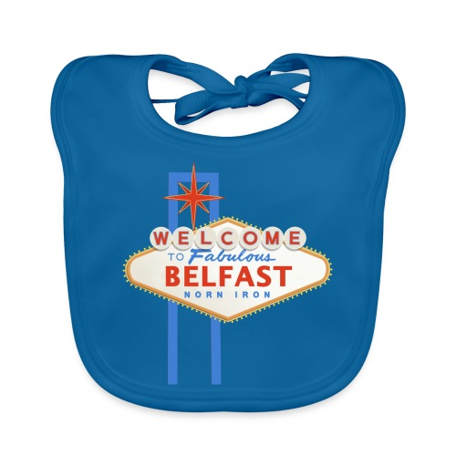 Belfast - Vegas sign - Organic Baby Bibs