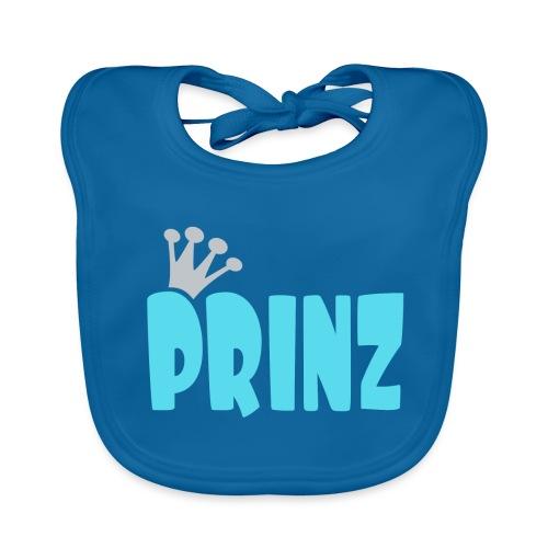PRINZ-hellblau-2 - Baby Bio-Lätzchen