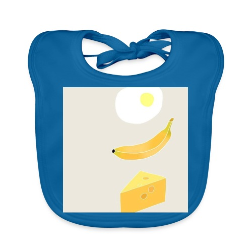 Egg Banana Cheese - Baby Organic Bib