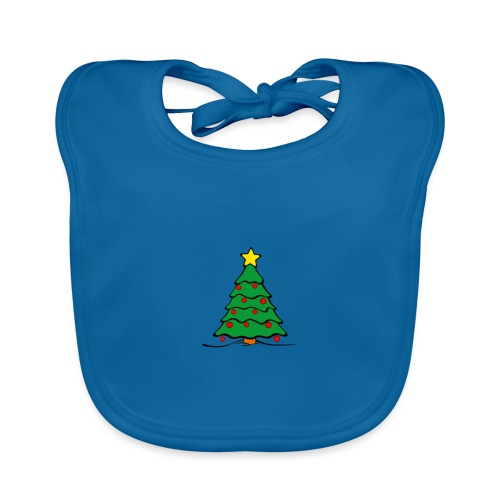Christmas-Tree - Baby Bio-Lätzchen