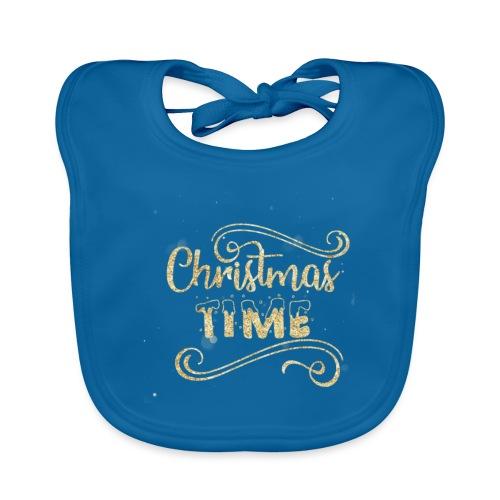 Christmas time - Organic Baby Bibs