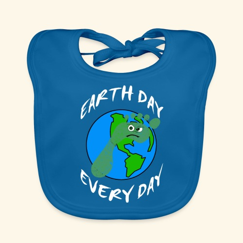 Earth Day Every Day - Baby Bio-Lätzchen