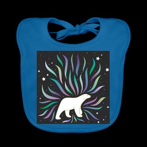 polar ours - Bavoir bio Bébé