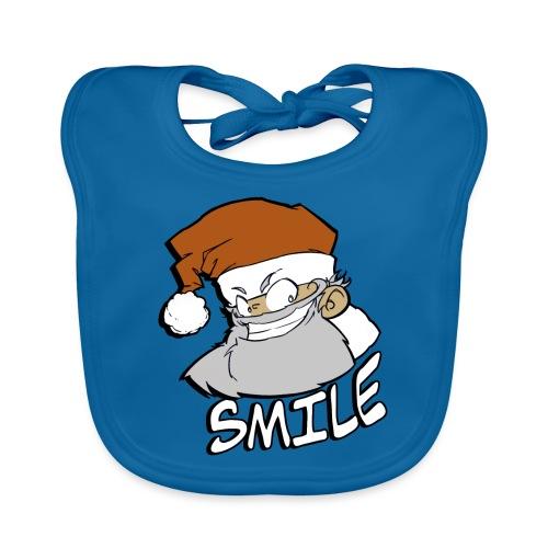 Santa smile - Bavoir bio Bébé
