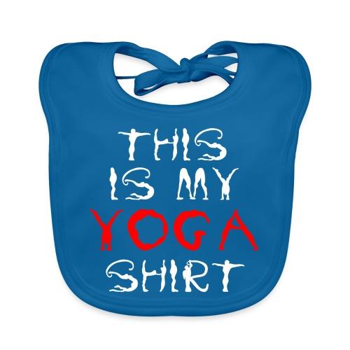 camicia yoga sport bianco spiritualità meditazione arte - Bavaglino ecologico per neonato